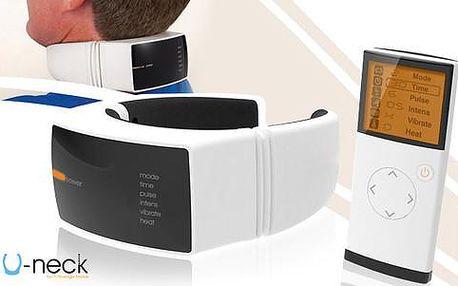 U-neck masážní přístroj na krk s doručením zdarma! Absolutní bestseller!