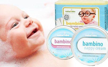 Sada dětské BIO kosmetiky Bambino