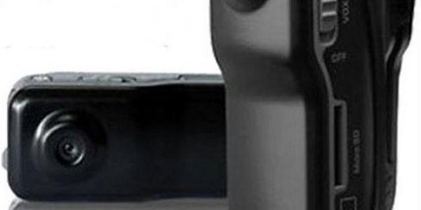 Mini digitální videokamera na sport - zachyťte si své adrenalinové zážitky!