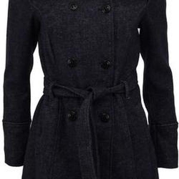 Tmavě modrý kabát Vero Moda Shandy