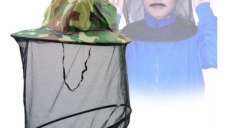 Klobouk s ochrannou sítí proti hmyzu - dodání do 2 dnů