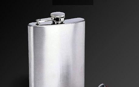 Nerezová placatka - 226 ml