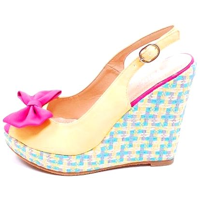 Dámské boty Verde, žluté