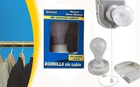 Bezdrátová plastová žárovka