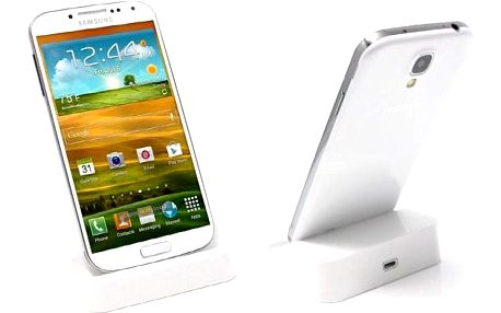 Přenosná dokovací stanice pro Samsung Galaxy ve 2 barevných provedeních