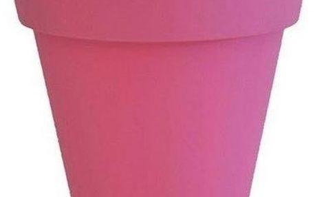 Květináč Markus Pedriksen Samantha, plast, růžový 45x45x45 cm