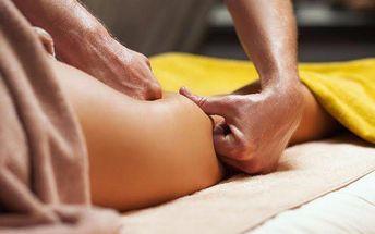 45minutová masáž proti celulitidě