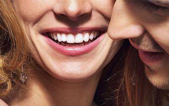 Profesionální bezbolestné LED bělení zubů v brněnském studiu Lucie