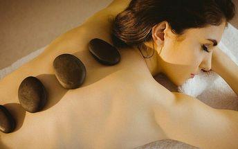Regenerační masáž a masáž lávovými kameny