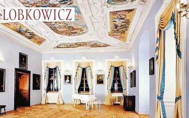 2 vstupenky na prohlídku Lobkowiczkého paláce