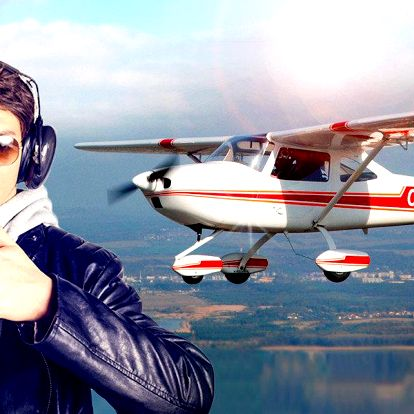 Pilotem letadla + instruktáž