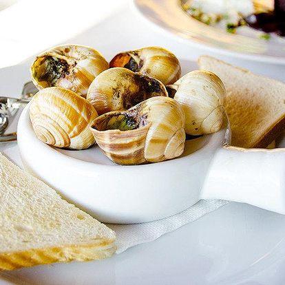 Vyladěné sezónní menu pro dva v Parnasu