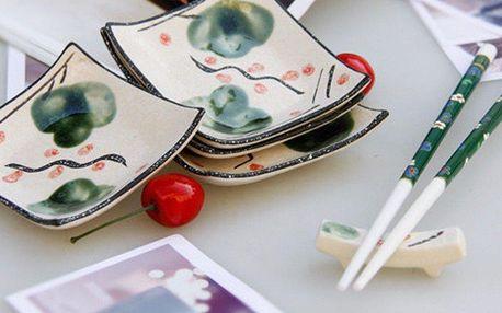 Dárková porcelánová sada sushi nádobí