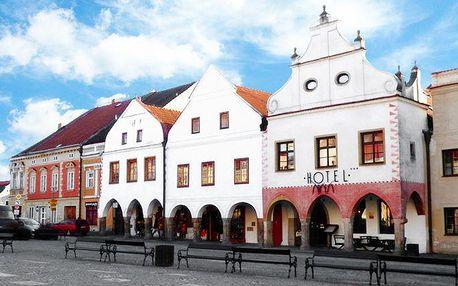 3 až 6 dní v České Kanadě pro 2 s gurmánskou večeří v hotelu Arkáda***