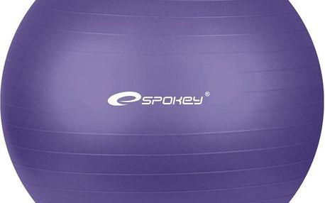 SPOKEY Fitball průměr 65cm fialový