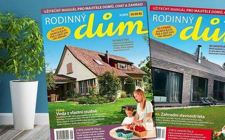 Roční předplatné časopisu Rodinný dům