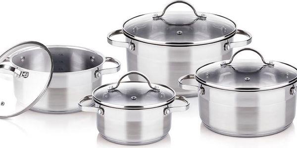 Lamart ELEGANT 8-dílná sada nádobí