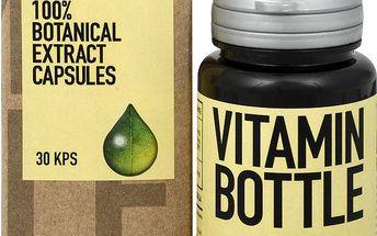 Vitamin-Bottle Koral kalcium 30 kapslí pro udržení normálního stavu pohybového aparátu