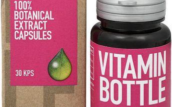 Vitamin-Bottle Cranberry Natural 30 kapslí podporuje normální funkci močové a cévní soustavy