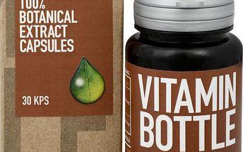 Vitamin-Bottle Kurkuma 30 kapslí přispívá k normální funkci jater a trávícího systému.