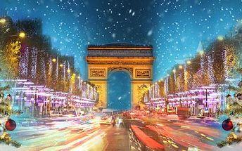 Silvestrovský zájezd do Paříže