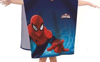 CTI Dětské pončo Spiderman Ultimate, 60 x 120 cm