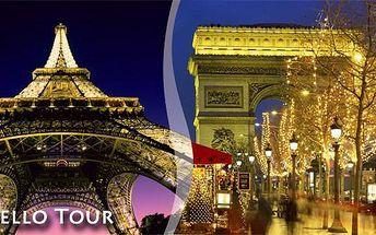 Silvestrovská Paříž s ubytováním