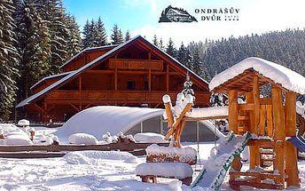 Wellness resort Ondrášův Dvůr **** v Beskydech s polopenzí, volným vstupem do thermal parku, wellness a se slevami na skipasy. DNES poslední šance nákupu!