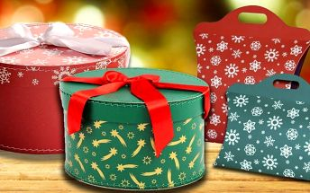 Kolekce pro balení vánočních dárků
