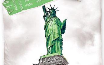 Tip Trade Bavlněné povlečení New York Socha Svobody