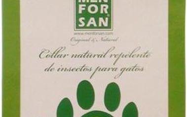 Menforsan Přírodní obojek pro kočky, odpuzující klíšťata a blechy (Natural Insect Repellent Collar for Cats)