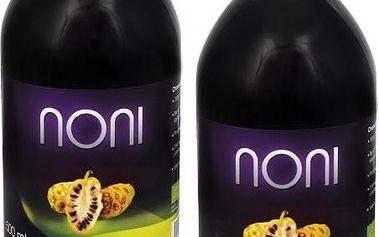 Allnature Noni - 100% Bio šťáva 1 + 1 zdarma (500 ml + 500 ml)