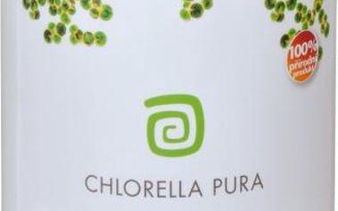 Chlorella Centrum Chlorella Pura 500 g pro zlepšení celkové kondice
