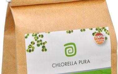 Chlorella Pura 90 g pro očistu organismu a zlepšení imunitního systému