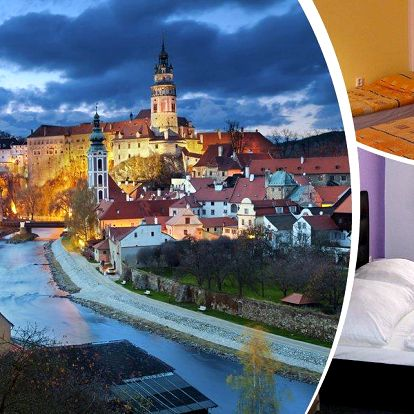 Jižní Čechy, Český Krumlov - pobyt pro 2 osoby na 3 až 6 dní v penzionu Ratzka s polopenzí.