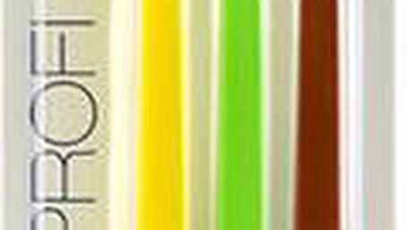 Swissdent Profi Colours Soft Medium Trio Zubní kartáček U Zubní kartáčky - Odstín Black, Yellow, Green