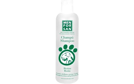 Menforsan Přírodní šampon s biotinem pro psy (Shampoo Biotin) 300 ml