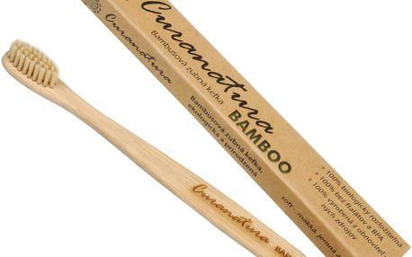 Zdravý zubní kartáček Curanatura 1 ks Bamboo - zelená volba