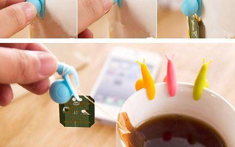 Sada držáčků na čajové sáčky - 5 kusů