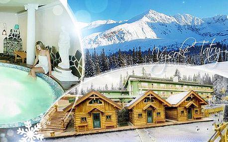 Vysoké Tatry na 6 dní pro 1 os. s plnou penzí a wellness - sauna, bazén a masáž! Sleva pro seniory, studenty i ZTP!