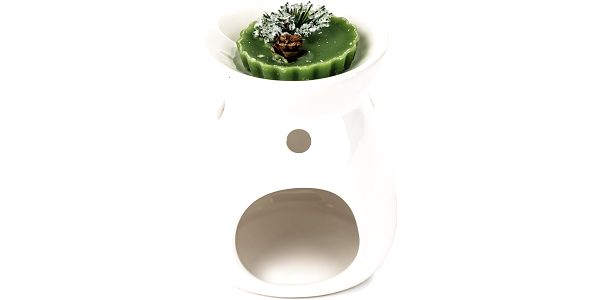 Aromalampa s vonným voskem borovice