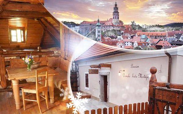 Český Krumlov! 3 dny pro 2 v Domku Kata Matěje se snídaní, vstupenkami do středověké kovárny a platností do 30.6.2016