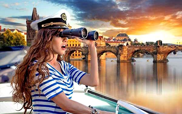 Soukromá plavba lodí po Vltavě na 60 min