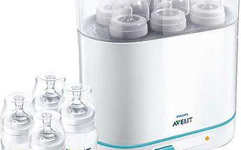 AVENT Parní sterilizátor elektrický 3 v 1 - sada