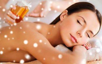 Relaxační masáž + skořicový tělový zábal
