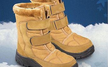 Zimní obuv s kožíškem, 37
