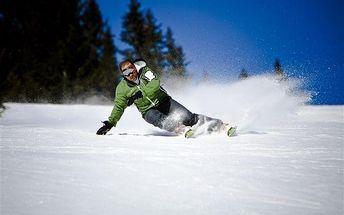 4 hodiny lyžařské školy pro jednoho (Liberecko)