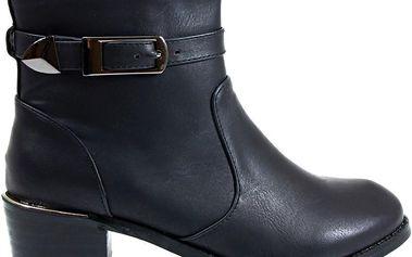 Kotníkové boty A826-1B 39