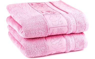 4Home ručník Bamboo Exclusive starorůžová, sada 2 ks