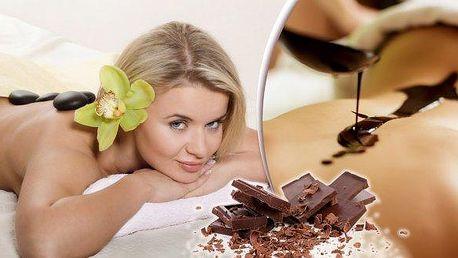 Neodolatelná čokoládová masáž nebo hluboce relaxační masáž lávovými kameny v masážním salonu Veronika v centru Plzně!! Nechte se opečovávat celých 90 minut pod rukami profesionální masérky a ze salonu odejdete jako znovuzrození!!